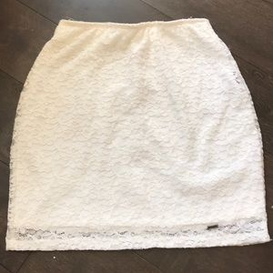 NWOT Classy Lace Skirt
